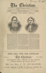 Advert For 'The Christian', Periodical